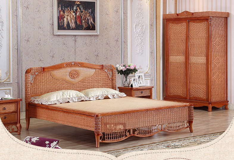 rattan bedroom whole sets 1