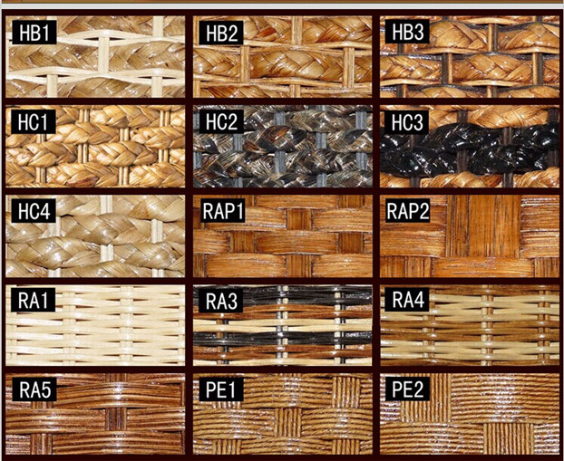 rattan material for rattan hotel furniture 1