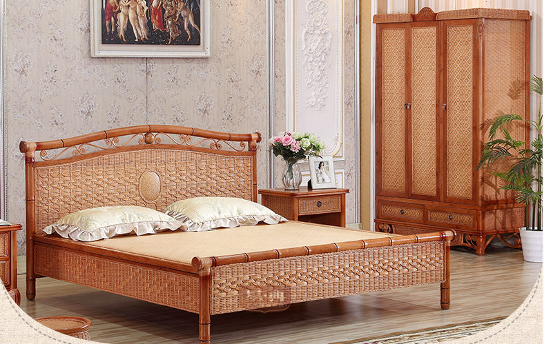rattan bedroom whole sets 2