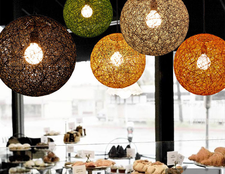 Ratan ball light