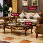 Europe Style of the rattan indoor furniture
