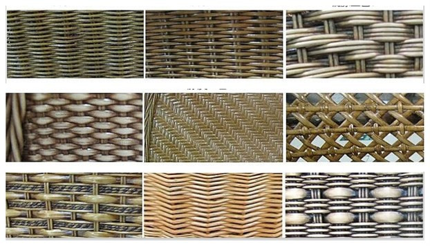 rattan material for rattan hotel furniture 2