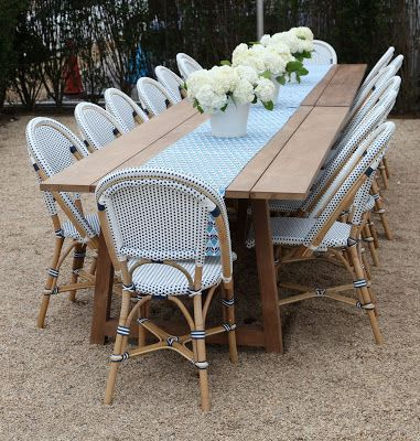 Commercial Outdoor Restaurant Chair - Commercial outdoor bistro table and chairs
