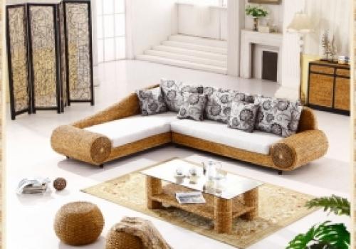 Rattan + Seagrass Sofa series 05