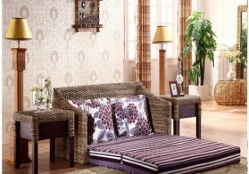 Rattan + Seagrass Sofa series 07