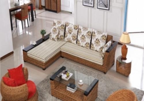 Rattan + Seagrass Sofa series 08