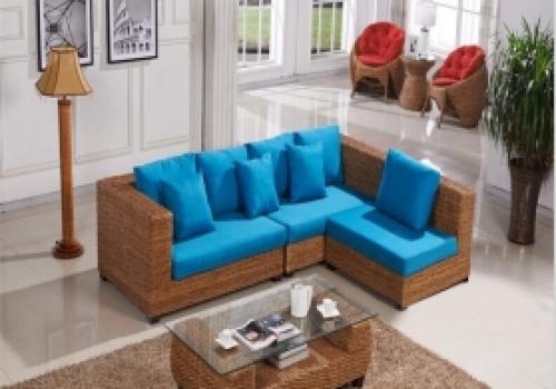 Rattan + Seagrass Sofa series 12