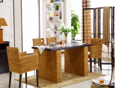 Rattan + Seagrass Dining Sets 03